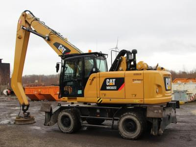 The first silent magnet installation, designed by KW Supply BV, is in operation on a CAT 3022.
