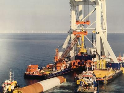 KW Supply supplies special magnet installation for offshore wind farms