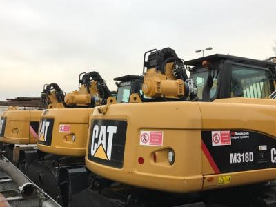 New Caterpillar machines