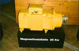Magnetic equipment 25 kw